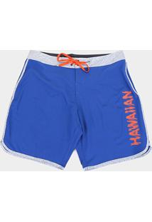 Bermuda Hd Plus Size Freakin Masculina - Masculino-Azul