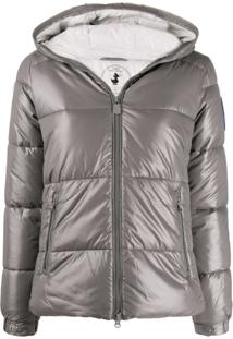 Save The Duck Hooded Padded Jacket - Cinza