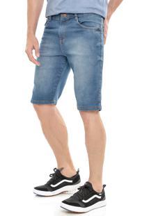 Bermuda Jeans America Do Sul Slim Fit - Jeans - Masculino - Algodã£O - Dafiti