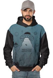 Casaco De Moletom Alien Extraterrestre Alienígena Blue