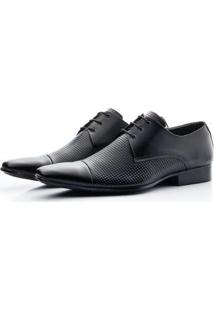 Sapato Social Inglês Couro Estampado Bigioni Masculino - Masculino
