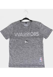 Camiseta Juvenil Nba Golden State Warriors Masculina - Masculino