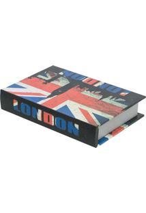Livro Caixa London Colorido