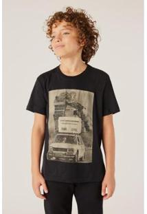 Camiseta Infantil Reserva Mini Armazenamento Vj Masculina - Masculino