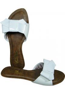 Chinelo Camelia - Feminino-Branco