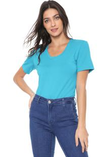 Camiseta Forum Básica Azul