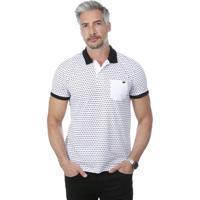 b85068c874 Camisa Pólo Aberta Manga Curta masculina