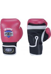 Luvas De Boxe Punch Amador - 10 Oz - Adulto - Rosa