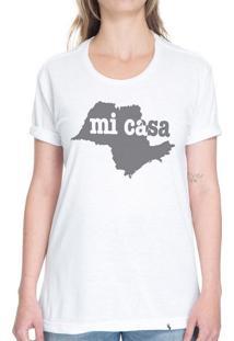 Sp Mi Casa - Camiseta Basicona Unissex