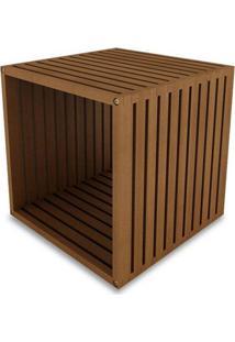 Modulo Dominoes 45X45 Cor Stain Jatoba - 23224 - Sun House