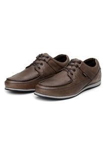 Sapato Em Couro Hayabusa Enter 10 Café