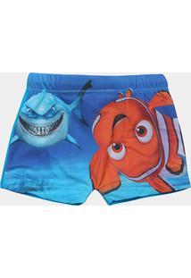 bb9359b763 Sunga Boxer Infantil Tip Top Procurando Nemo Masculina - Masculino-Azul  Turquesa