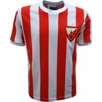 5581b21c6a316 Camisa Liga Retrô Estrela Vermelha 60´S - Masculino