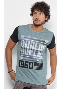 07be7546f6 Camiseta Fatal Gola Careca Estampada Masculina - Masculino