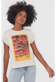 Camiseta Forum Marvel Cinza - Cinza - Feminino - Algodã£O - Dafiti
