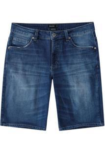 Bermuda Tradicional Jeans Estonado Malwee