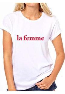 Camiseta Coolest La Femme Feminina - Feminino-Branco