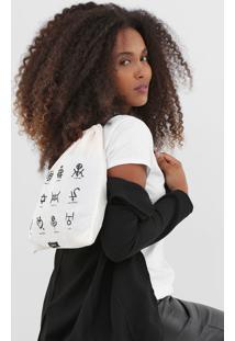 Camiseta Dimy Símbolos Branca