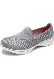 Slipper Skechers Go Walk 4 - Kindle Cinza