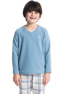 Pijama Infantil Masculino Longo Em Microsoft Winter