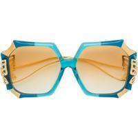 Anna Karin Karlsson Óculos De Sol Com Borboleta Na Haste - Azul 16c49e9a9a