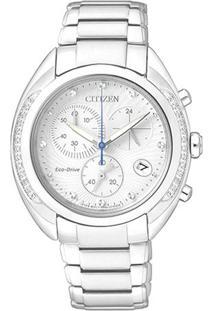Relógio Analógico Tz28306Q- Prateado- Citizencitizen