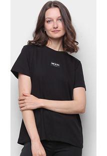 Camiseta Colcci Básica Thank You Next Feminina - Feminino