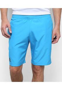 Short Adidas Club 9 Masculino - Masculino-Azul+Preto