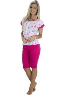 Pijama Mvb Modas Pescador - Feminino-Rosa