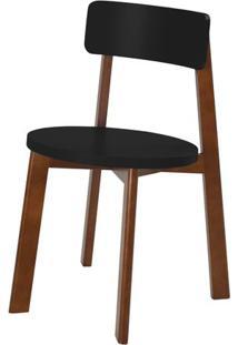Cadeira Lina Cor Cacau Com Preto - 31528 - Sun House