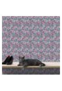 Papel De Parede Autocolante Rolo 0,58 X 5M - Flores 284250389