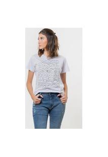 Camiseta Jay Jay Básica As Ondas Branca