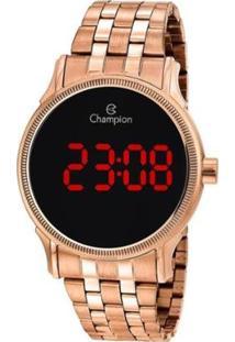 Relógio Champion Digital Ch40204Z Feminino - Feminino-Rosa
