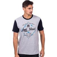 f8f1dff848 Camiseta Long Island Endless Masculina - Masculino