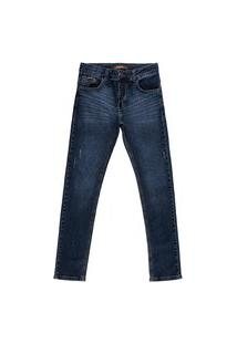 Calça Jeans Reduzy Skinny Masculina Azul