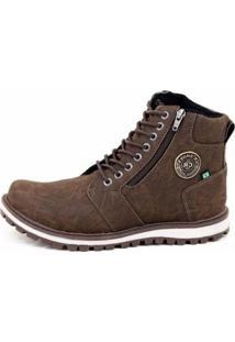 Bota Adventure Cr Shoes Masculina - Masculino-Marrom