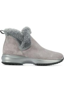Hogan Ankle Boot 'Interactive' - Cinza