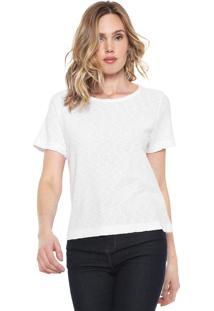 Camiseta Sacada Flamê Branca