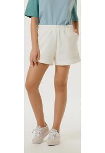 Shorts Feminino Color Block Cintura Alta