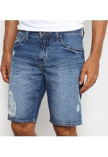 Bermuda Jeans Colcci Davi Masculina - Masculino