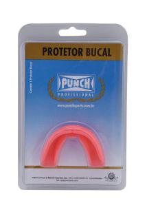 Protetor Bucal Punch Simples Profissional - Adulto - Rosa