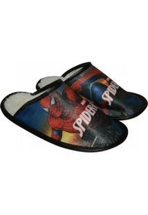 Pantufa Homem Aranha - Masculino-Vermelho