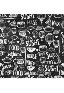 Papel De Parede Adesivo Sushi