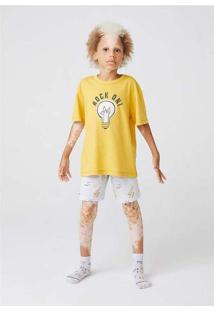 Pijama Infantil Menino Com Estampa Brilha No Escur