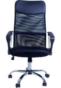 Cadeira De Escritório Lyam Decor Excellence Preto