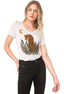 Camiseta Mob Jaguar Off-White