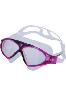 Óculos De Natação Mormaii Orbit - Adulto - Branco/Rosa