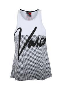 Camiseta Regata Do Vasco Da Gama Stock - Feminina - Branco 58da7cadd6c4e