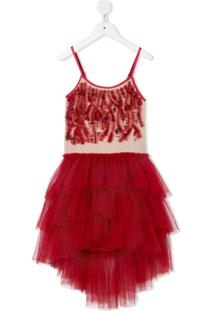 Tutu Du Monde Vestido 'Scarlet Superstition' - Vermelho