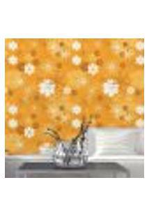 Papel De Parede Autocolante Rolo 0,58 X 3M - Floral 14